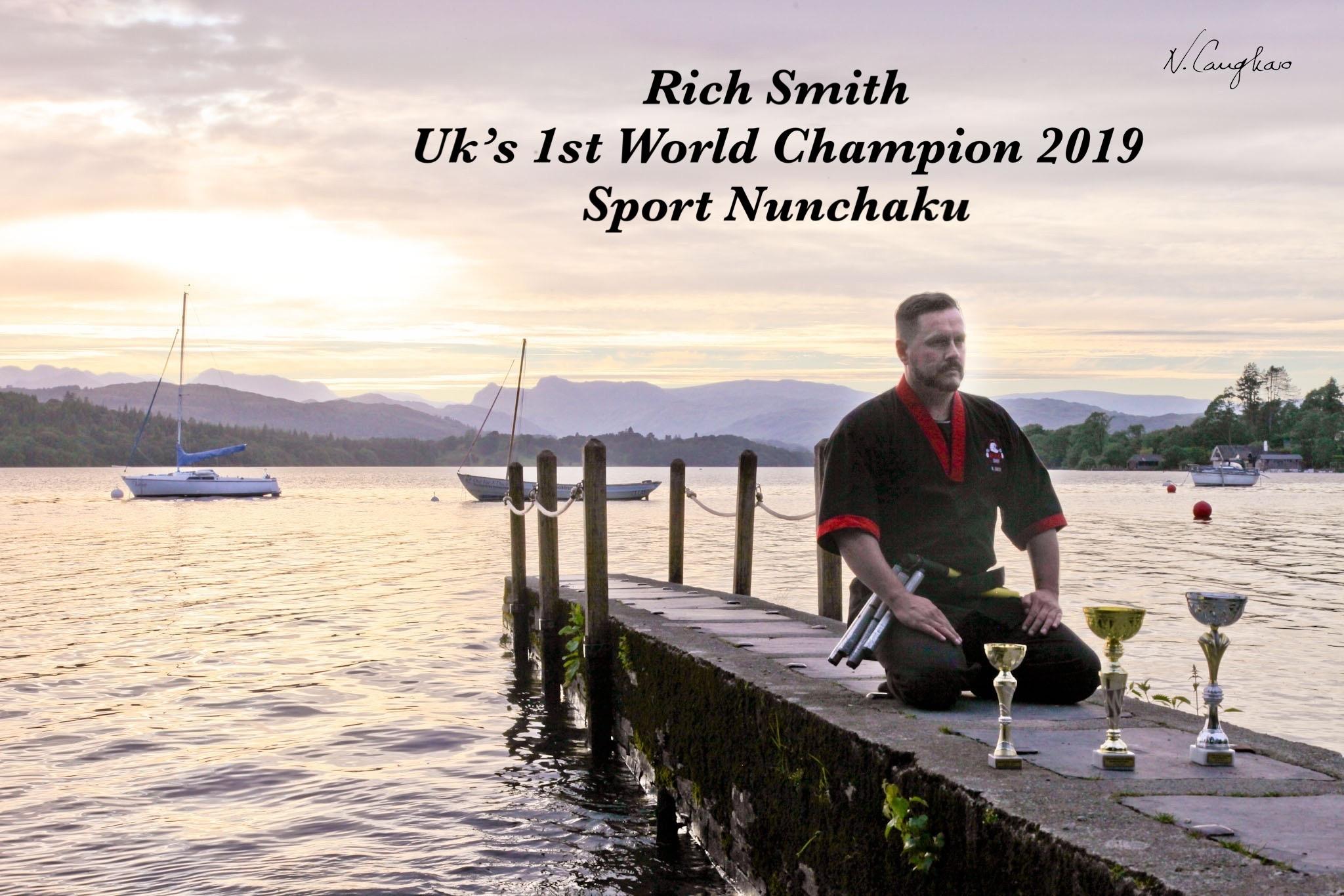 Private Lesson with Sport Nunchaku World Champion