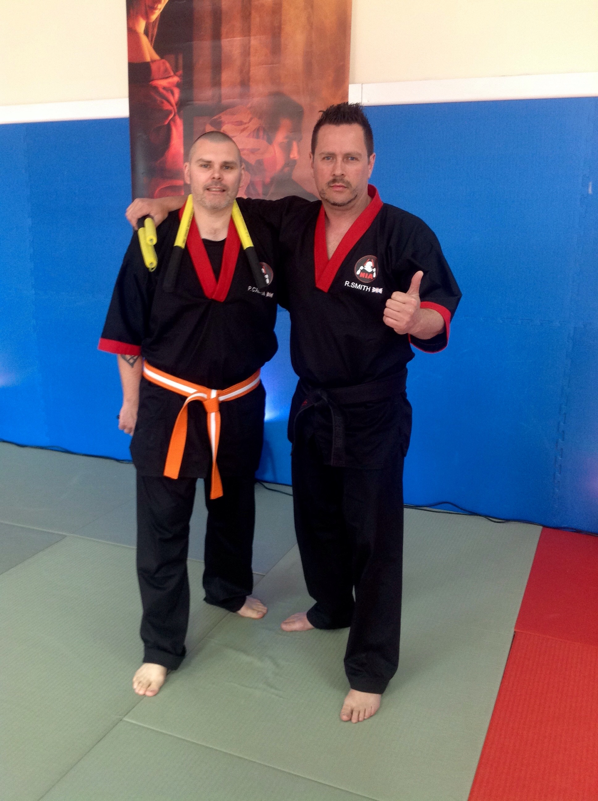 Appreciation to SNUK@Liverpool Sensei Peter C'ailceta and IBF Jack Taylor attends 1st private lesson Windermere H.Q.