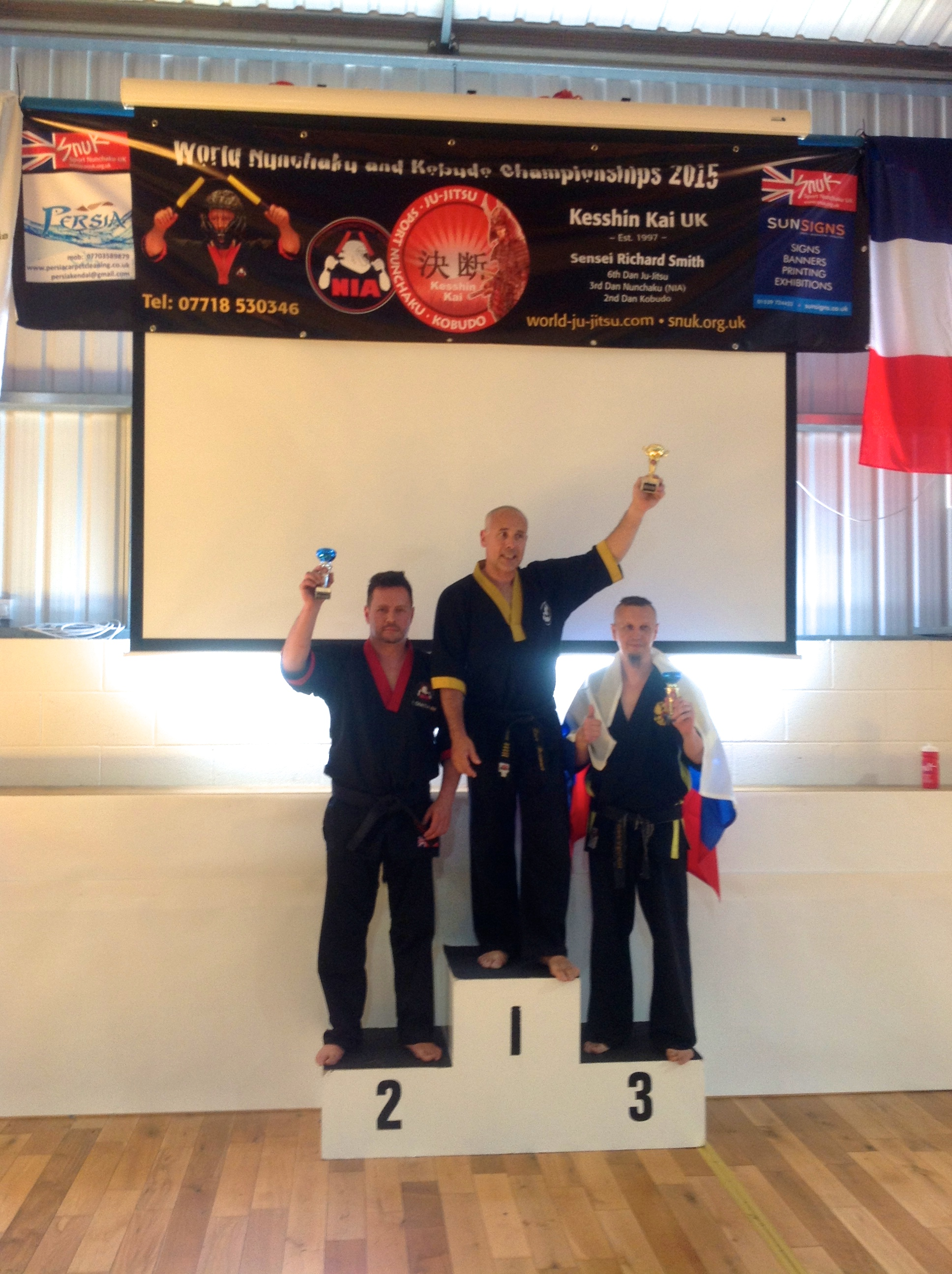 World Nunchaku Championships Master Level-Kendal 2015