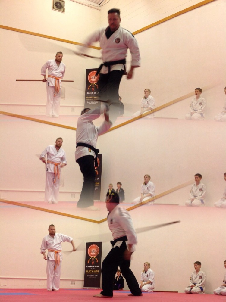 Kesshin Kai-Kobudo 古武道- Good Kobudo training tonight guys, well done!