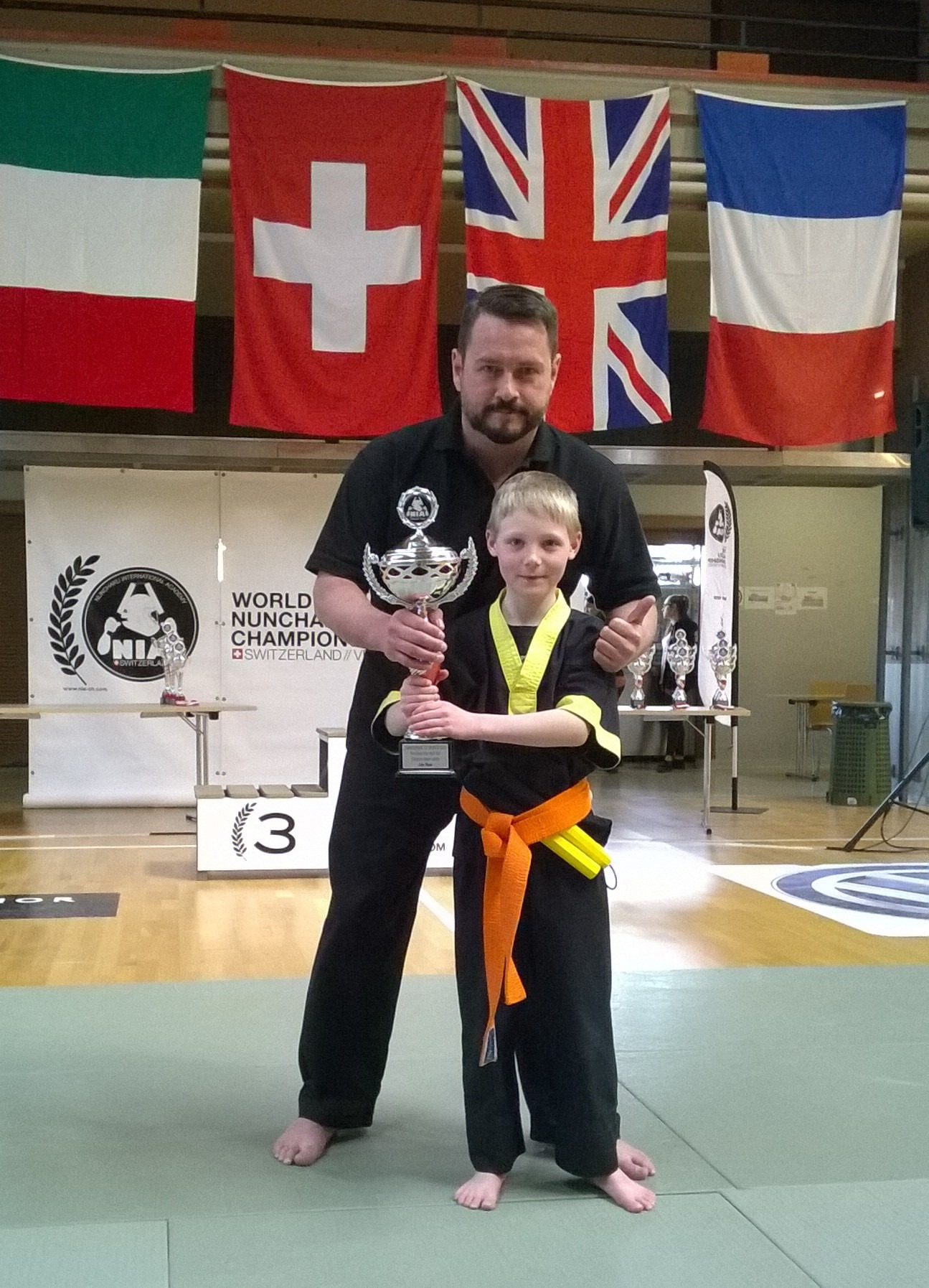 Sport Nunchaku Team GB World Champions 2016