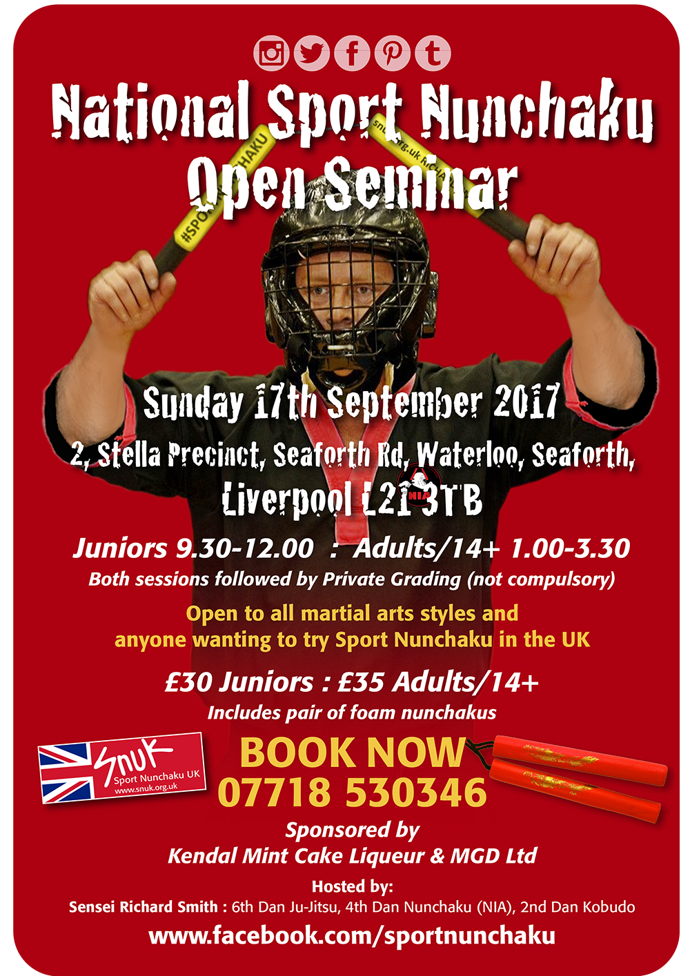 National Sport Nunchaku Open Seminar-Liverpool 2017