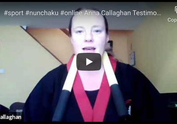 #sport #nunchaku #online Anna Callaghan Testimonial-  Fighting #anxiety