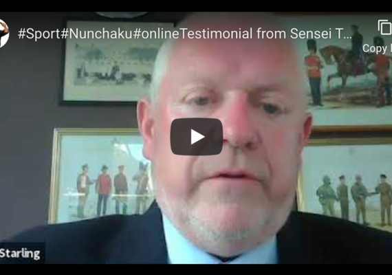#Sport#Nunchaku#onlineTestimonial from Sensei Tom Starling 7th Dan Ju-Jitsu IBF